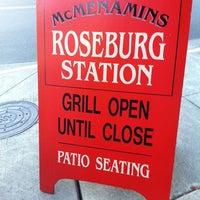 Photo taken at McMenamins Roseburg Station Pub & Brewery by Stewy ®. 🕟-10 on 5/20/2011