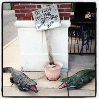 Photo taken at Red Beans Bayou Grill by C.J. on 7/19/2012
