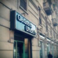 Photo taken at Gelateria Umberto by emilio v. on 3/26/2011
