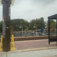Photo taken at Rockville Metro Station by Donnell S. on 9/22/2011