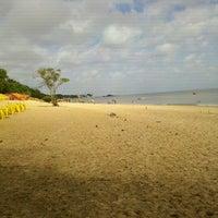 Photo taken at Praia do Chapéu Virado by Luiz F. on 7/13/2012