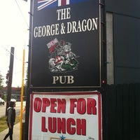 Photo taken at George & Dragon Pub by Henry V. on 7/17/2011