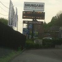 Photo taken at Shurgard Self-Storage by Matthias L. on 5/7/2012
