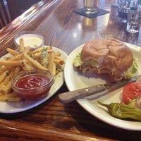 Photo taken at The Burger Saloon by Mick L. on 9/1/2012
