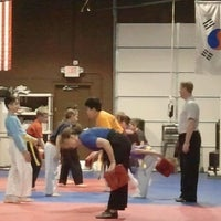 Photo taken at Dragon E's Black Belt Academy by Andi S. on 4/5/2012