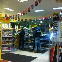 Photo taken at Shell by Андрюшка Я. on 2/10/2012