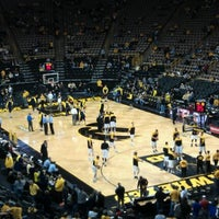 Photo taken at Carver-Hawkeye Arena by Jennifer S. on 1/14/2012