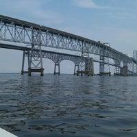 Photo taken at Chesapeake Bay by Alden N. on 6/19/2012