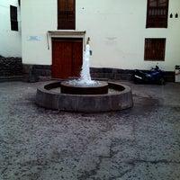 Photo taken at Plaza de San Blas by Tato C. on 9/2/2012