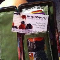 Photo taken at Lemonberry Frozen Yogurt by Sam M. on 6/14/2012