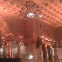 Photo taken at Cipriani Wall Street by Pauline C. on 2/28/2012