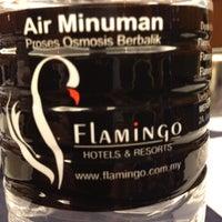 Photo taken at Flamingo Hotel by The Lake by Morsidi A. on 6/8/2012