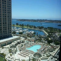 Photo taken at Manchester Grand Hyatt San Diego by Gina M. on 6/23/2012