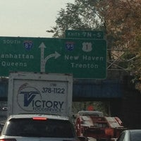 Photo taken at Major Deegan Expressway (I-87) by Athina G. on 11/3/2011