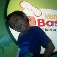 Photo taken at Mister Baso by andhi r. on 9/14/2011