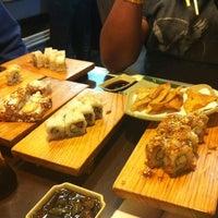 Photo taken at Nuvo Sushi by Jose Alberto A. on 12/12/2011