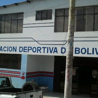Photo taken at Federación Deportiva de Bolívar by Renato D. on 10/28/2011