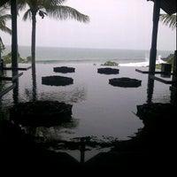 Photo taken at Merica Restaurant, Tanah Lot, Bali by Unggul P. on 1/28/2012