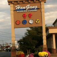 Photo taken at Han Gang Korean Cuisine by Marquis L. on 10/26/2011