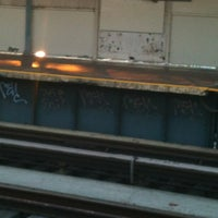 Photo taken at MTA Subway - 111th St/Greenwood Ave (A) by Lindsay D. on 12/14/2011