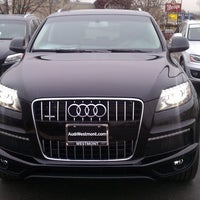 Photo taken at Audi Westmont by George D. on 12/21/2011
