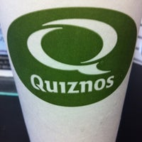 Photo taken at Quiznos by Bandito on 1/24/2012