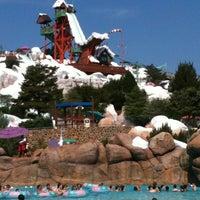 Photo taken at Disney's Blizzard Beach Water Park by Dana K. on 4/11/2012