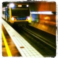 Photo taken at Melbourne Central Station by Iván F. on 4/14/2012