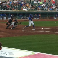 Photo taken at Principal Park by Bryan B. on 8/26/2012