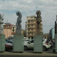 Photo taken at Piazza Carlo Bilotti (Ex Piazza Luigi Fera) by Gianluigi F. on 8/20/2012