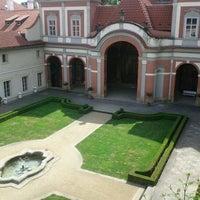 Photo taken at Ledeburská zahrada   Ladeburg Garden by Lukáš Č. on 5/29/2011
