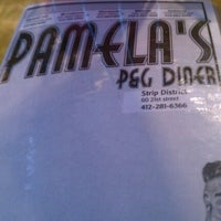 Photo taken at Pamela's P&G Diner by Stephanie K. on 12/23/2011