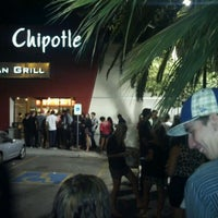 Photo taken at Chipotle Mexican Grill by Tj W. on 10/25/2011