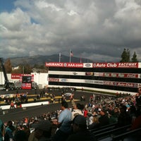 Photo taken at AAA Auto Club Raceway by Jason C. on 2/12/2012