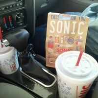 Photo taken at SONIC Drive In by Rachel B. on 9/9/2012