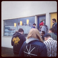 Photo taken at Double Decker Records by Gordon D. on 4/21/2012
