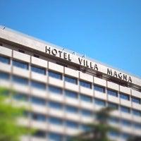 Photo taken at Hotel Villa Magna by Robert R. on 5/4/2011