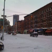 Photo taken at Snowpocalypse 2010 - NY by Rahsaan B. on 12/30/2010