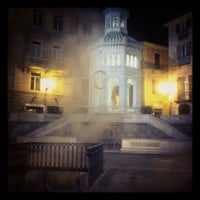 Photo taken at Piazza della Bollente by Alessandra Lou Z. on 1/17/2012
