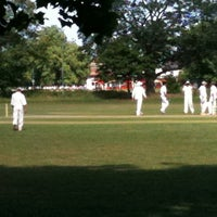 Photo taken at Putney Common Cricket Pitch by Ian G. on 5/21/2011