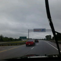 Photo taken at Indiana / Ohio State Line by Jos V. on 5/13/2012
