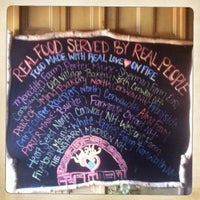 Photo taken at Flatbread Pizza Company by Nathan S. on 8/24/2012
