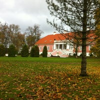 Photo taken at Sagadi Manor by Karl-Ander P. on 10/13/2011