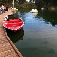 Photo taken at Stow Lake Boat House by Jermin L. on 10/16/2011