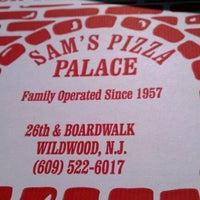 Photo taken at Sam's Pizza Palace by Joe A. on 10/14/2011