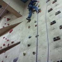 Photo taken at Doylestown Rock Gym & Adventure Center by Alan G. on 1/21/2012