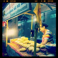 Photo taken at Night Food Stall Street by Rob on 4/16/2012