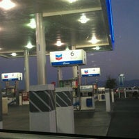 Photo taken at Chevron by Anthony D. on 1/2/2012