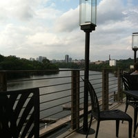 Photo taken at The Boathouse at Rocketts Landing by Rachael L. on 9/3/2012