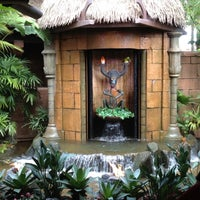 Photo taken at Walt Disney's Enchanted Tiki Room by Stacey on 2/5/2012